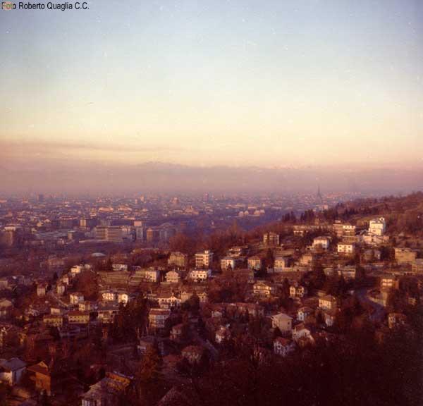 Panorama dalla collina