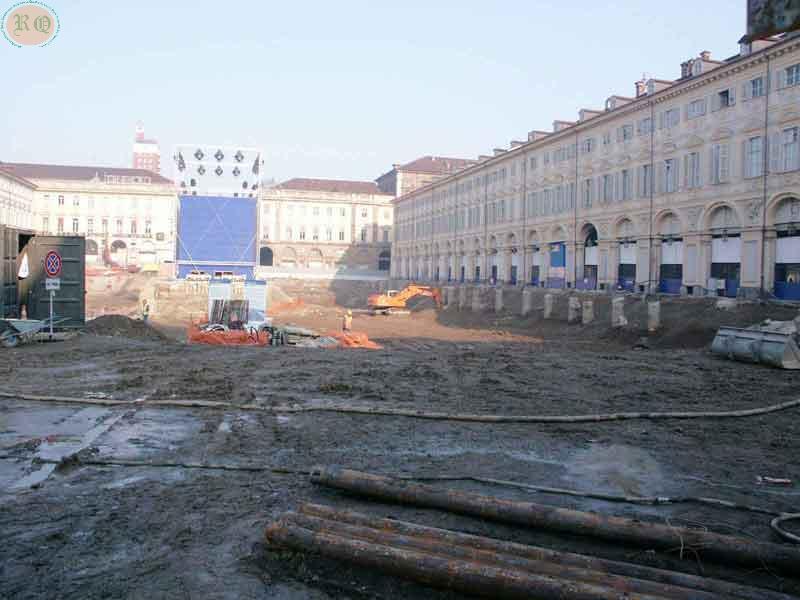 Panoramica scavi                       P. S. Carlo