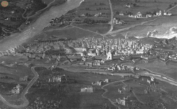 Piazza Castello e citta'