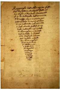 Documento su Vittorio Amedeo                                     1°