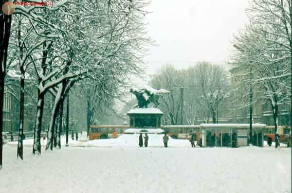 Piazza Solferino                     invernale