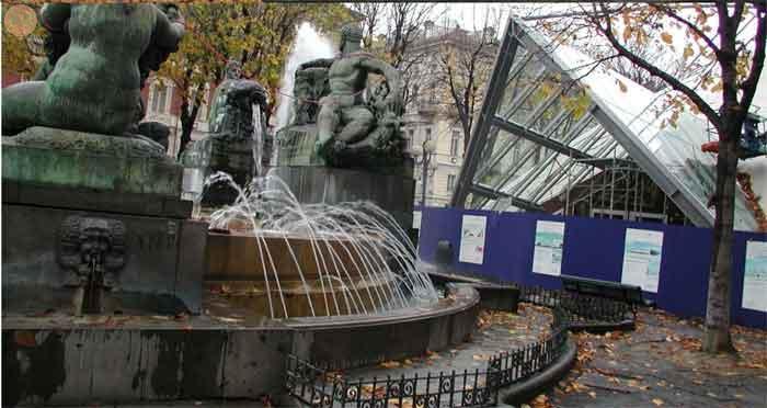 Particolare fontana