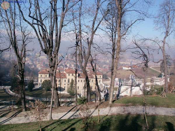 Villa con panoramica